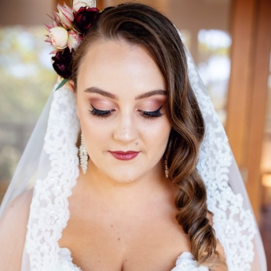 Hannah Wedding Makeup Yandina Station